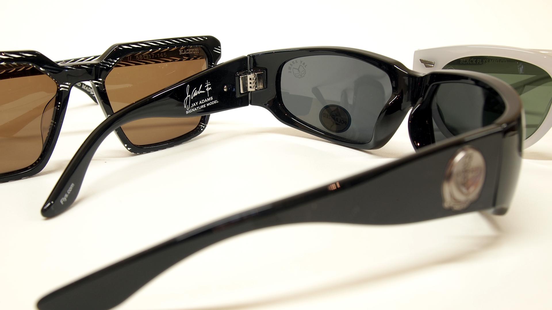 おシャレなサングラス BLACKFLYS | 静岡市 海野眼鏡店