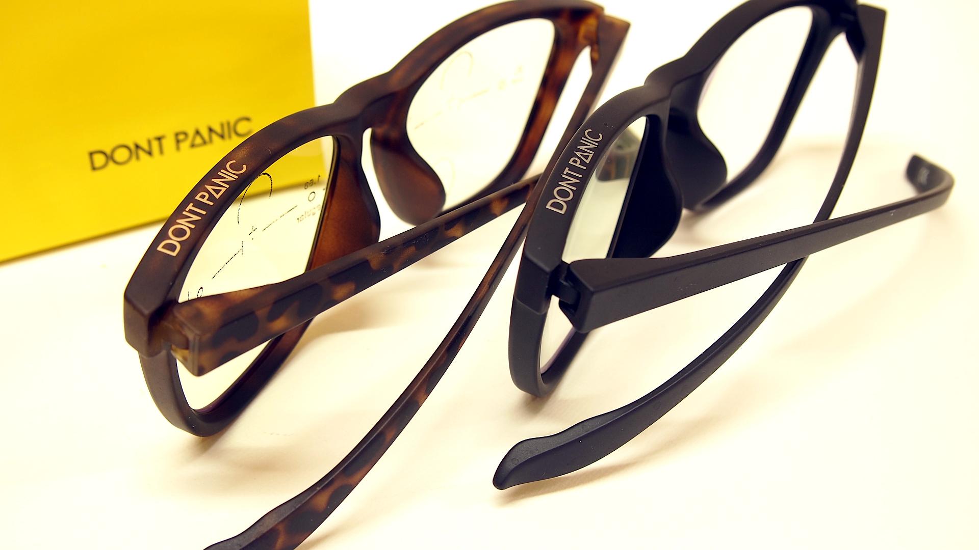 おしゃれな老眼鏡 DON'T PANIC | 静岡 海野眼鏡店